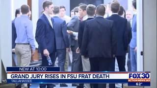 Latest from grand jury in FSU fraternity pledge Andrew Coffey case