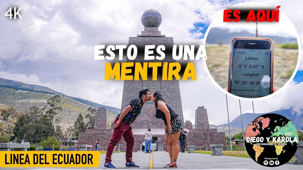 Download LA MITAD DEL MUNDO, TE MOSTRAMOS LA VERDADERA, CATEQUILLA, QUITO   ECUADOR   4K