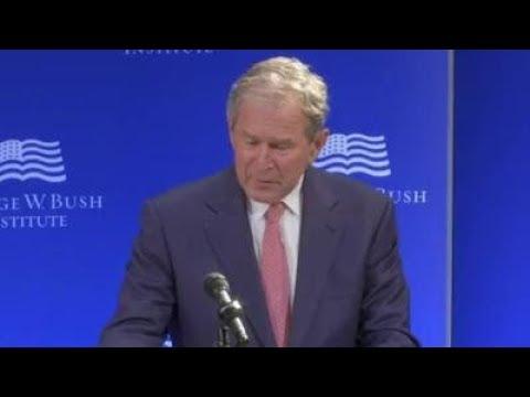 George W. Bush Criticizes Trump Presidency | Los Angeles Times