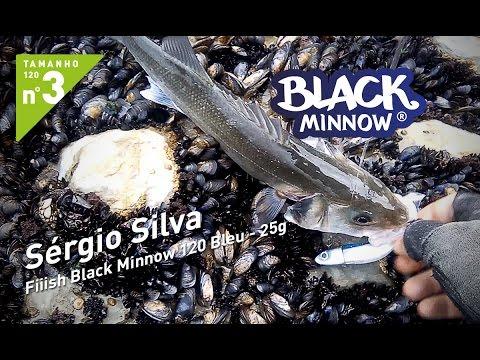 Sérgio Silva - Fiiish Black Minnow 120 Bleu - Offshore 25g