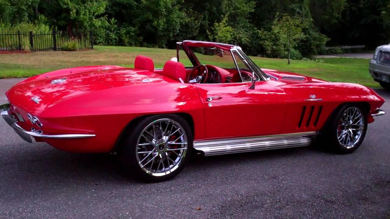 1961 Corvette For Sale >> ZO65 PRO TOURING RESTO MOD 65 CORVETTE - YouTube