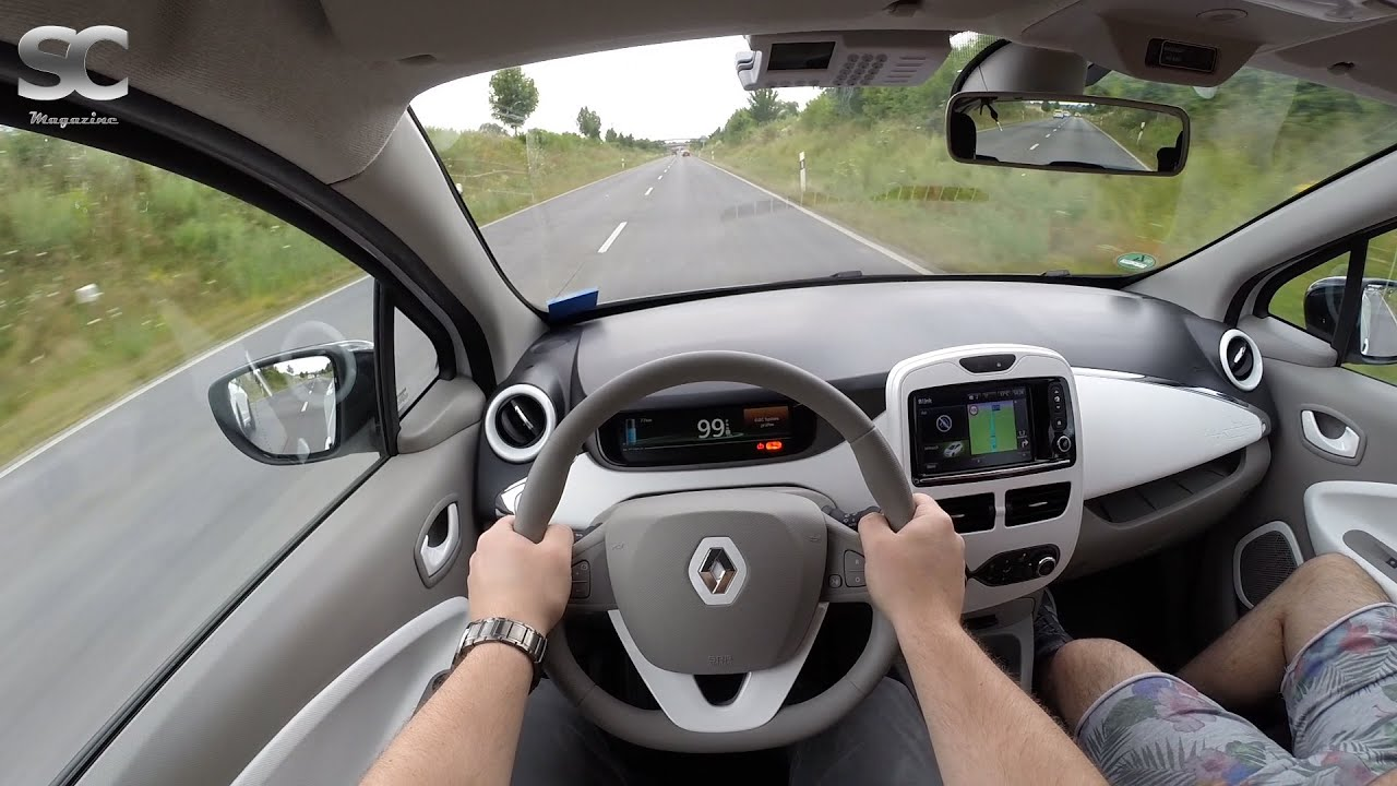 renault zoe 2016 on german country roads pov test drive youtube. Black Bedroom Furniture Sets. Home Design Ideas