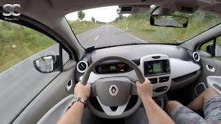 Renault ZOE (2016) on German Country Roads - POV Test Drive