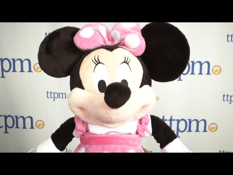 e990d393138 Minnie Mouse Plush Pink Large 27-inch from The Disney Store - YouTube