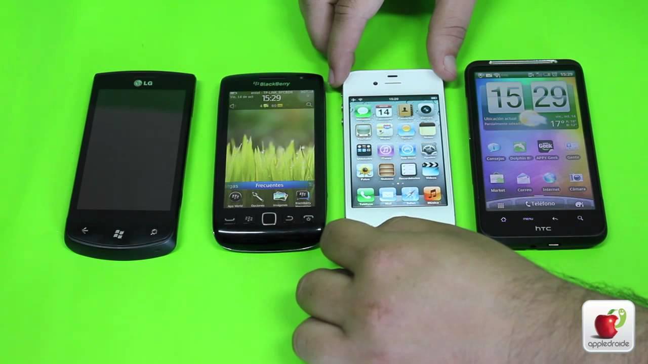 Phone Windows Phone Android Ios ios 5 vs android 2 3 blackberry os 7 windows phone mango elegir