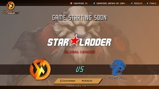 Signature.Trust vs iDeal.Gigabyte BO3 - Starladder | i-League - Caster : RoCkLEE-