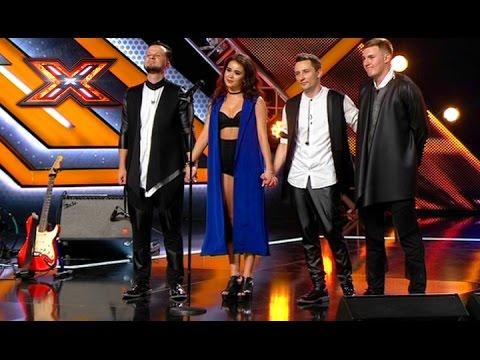 Группа Chica-Band. Love Dont Let Me Go  David Guetta. Х-фактор 7. Восьмой кастинг