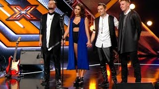 Группа Chica-Band. Love Don't Let Me Go – David Guetta. Х-фактор 7. Восьмой кастинг