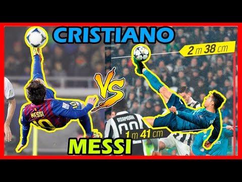 ???CRISTIANO vs MESSI | Duelo de Chalacas (Chilenas)