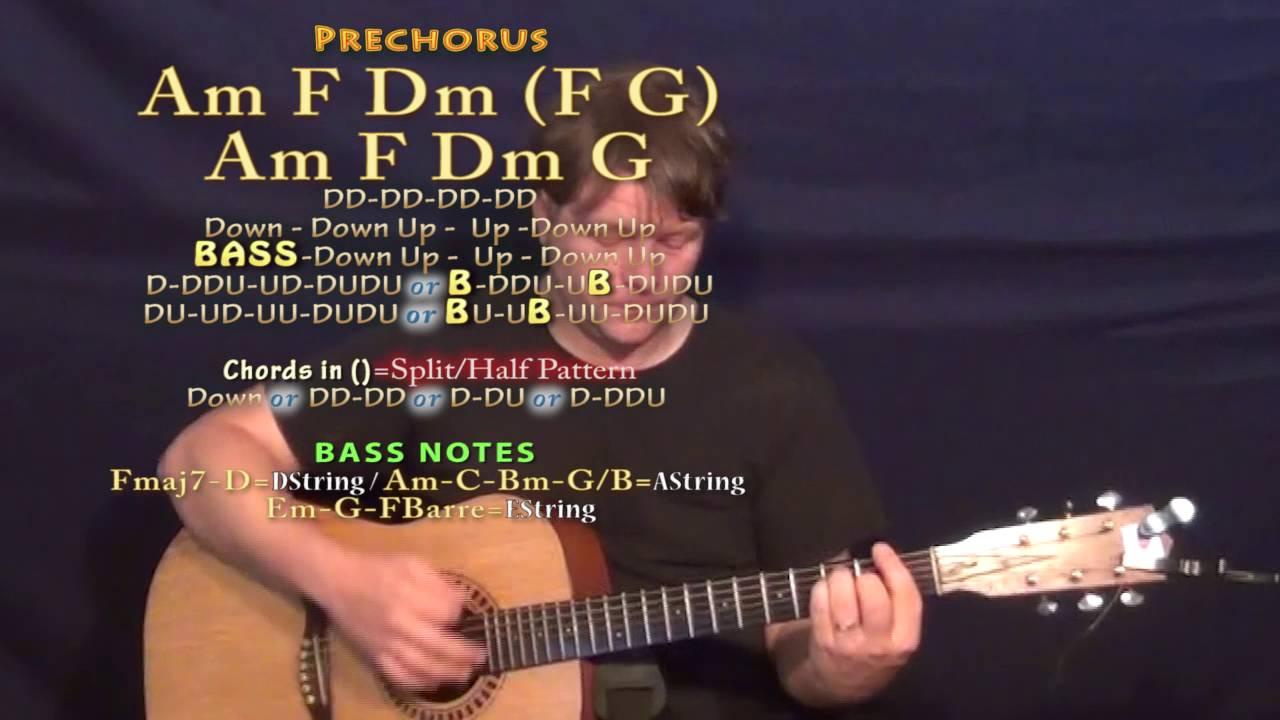Mad Ne Yo Guitar Lesson Chord Chart Youtube