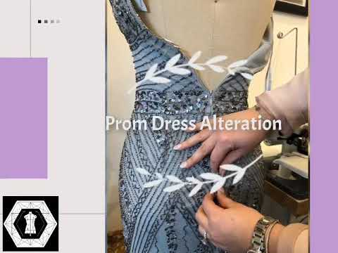 Prom Dress Alterations Youtube