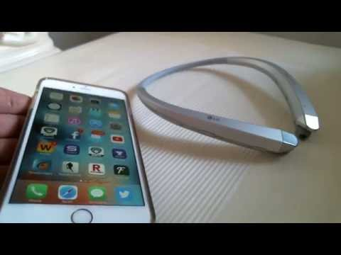 How to pair LG Tone Infinim HBS-910 bluetooth to Iphone 6