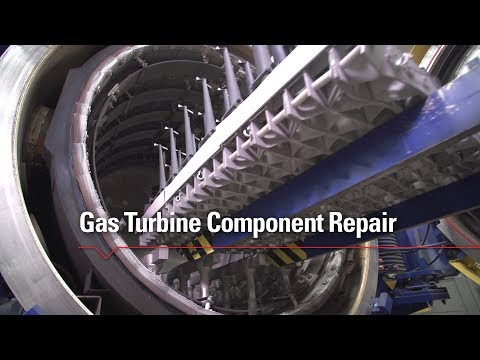 MD&A's Gas Turbine Component Repair
