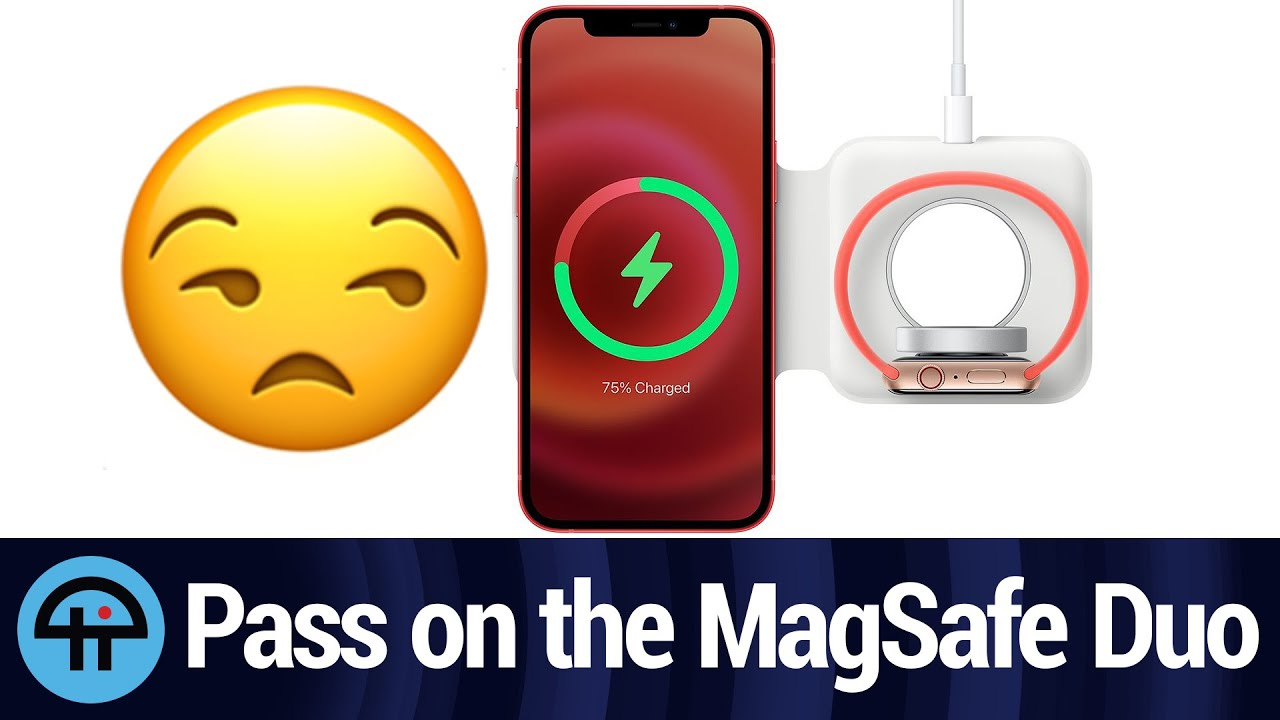 Pass on Apple MagSafe Duo Charger? - YouTube
