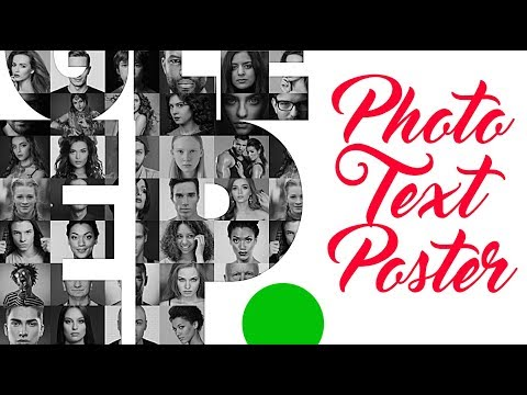 Photoshop: How To Create A Powerful Text Poster Filled With Photos