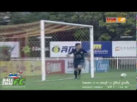 CARMELO GONZALEZ Top Scorer 23 Goals Thai Premier League 2013