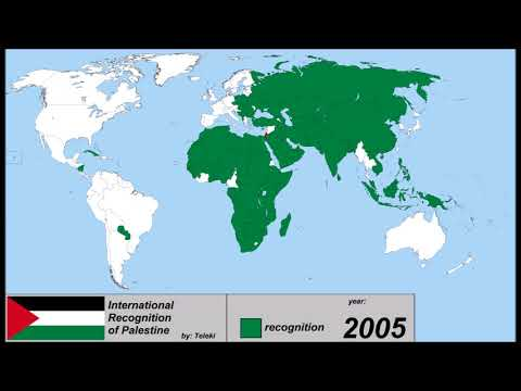 International Recognition of Palestine: Every Year