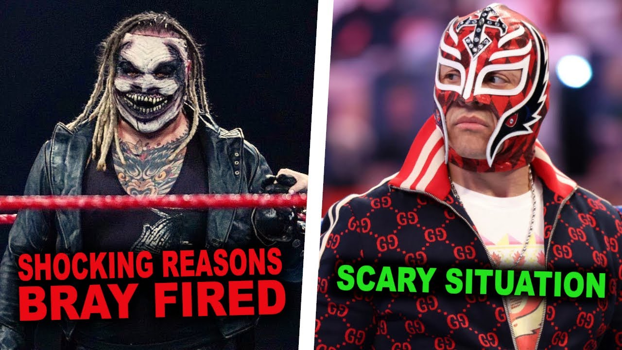 Why Bray Wyatt Was Sadly Released From WWE...Rey Mysterio Scary Situation With Crazy Fan...WWE News