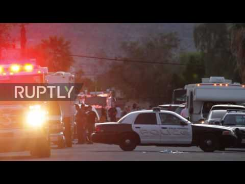 USA: 2 police officers killed, 1 injured in Palm Springs, California