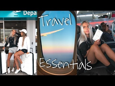 Our Travel Essentials + Hawaii Prep! Mescia Twins