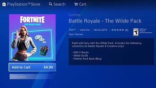 HOW TO GET NEW FORTNITE WILDE STARTER PACK FREE ON PS4/XBOX/PC/MOBILE! NEW FREE WILDE STARTER PACK