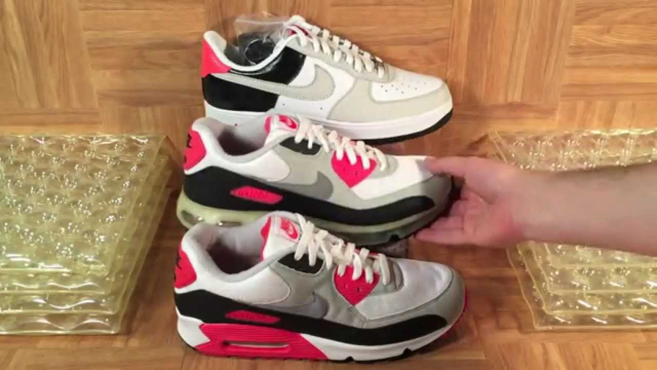 ee766da4f1 ShoeZeum Classic Nike Air Maxes And 360 And Air Force 1 Hybrids ...