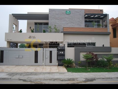 Beautiful 1 kanal house with swimming pool 500 sq yd villa arts architecture