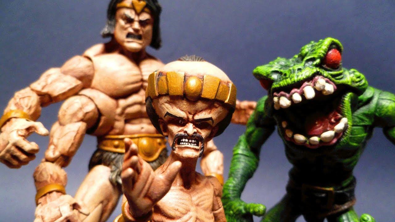SAVAGE LAND MUTATES Marvel Legends Custom Action Figures ...