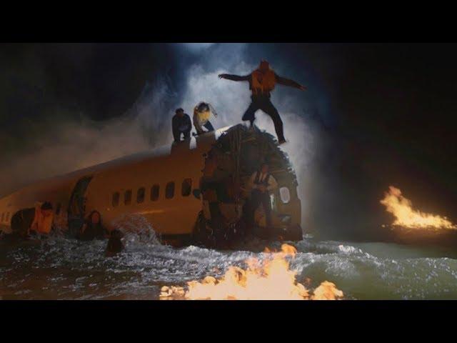 【宇哥】飞机失事坠海,绝望的乘客只能选择跳海,宛如炼狱《紧急呼救04》