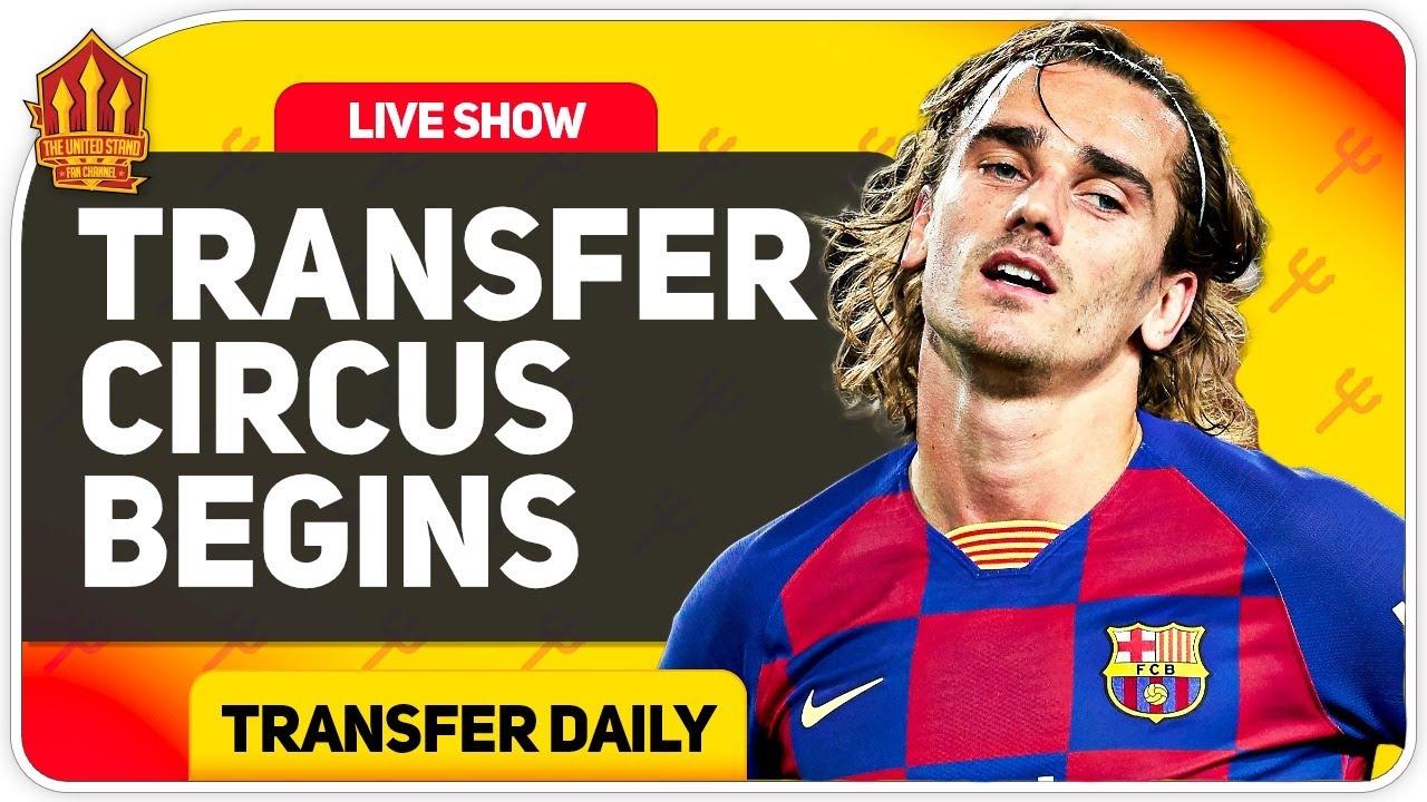 GRIEZMANN To United? SANCHO Transfer Boost! Man Utd Transfer News