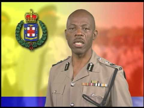 New year statement by Commissioner of police Dr Carl Williams