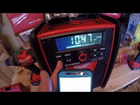 Milwaukee M18 Radio Review