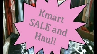 June 2013 Kmart SALE and Haul! II Clothed For Winter Thumbnail