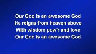 Hillsong Awesome God (worship video w/ lyrics)