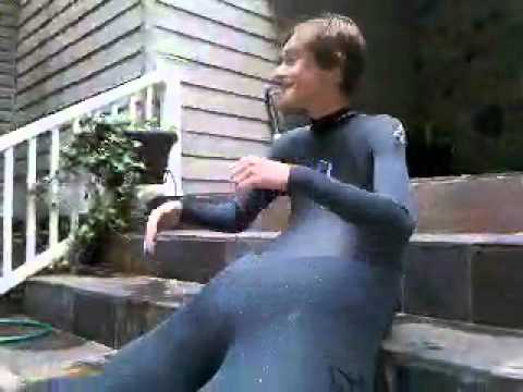 Gays in wetsuits