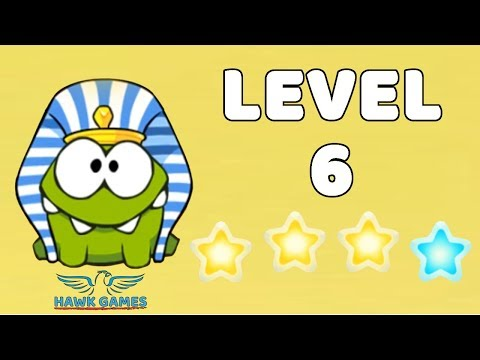 Cut The Rope: Time Travel - Level 4-6 [Ancient Egypt] 4 Stars Walkthrough