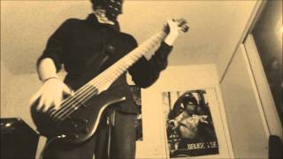 Korn: Divine: Bass Cover.