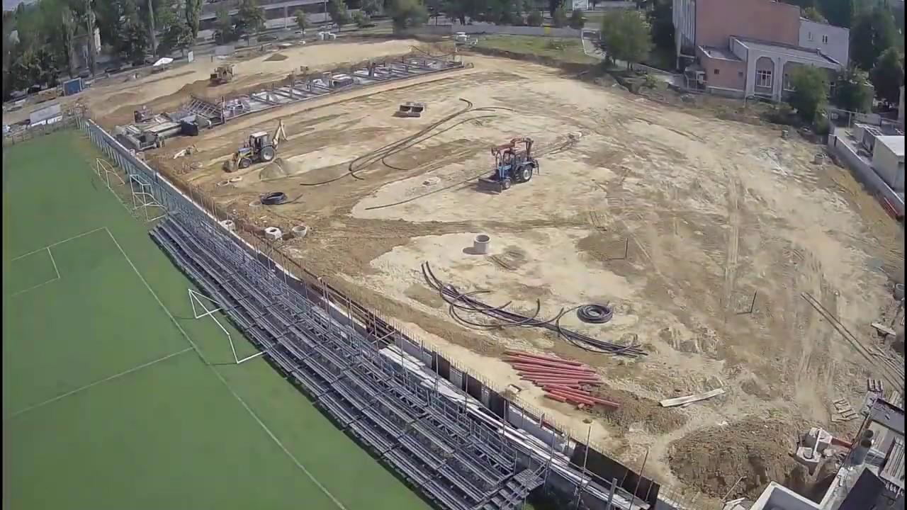 2 года строительства Lions Arena за 3 минуты