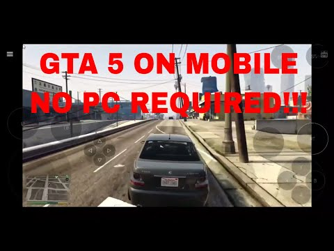 GTA 5 ON MOBILE | NO PC NEEDED! Vortex Cloud Gaming (Galaxy S8+)