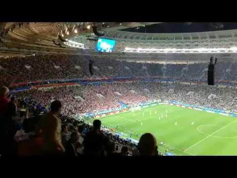 England kick off while Croatia are celebrating - EMBARRASSING!!