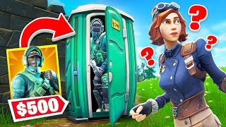 NEUES OP VERSTECK mit 500€ SKIN in FORTNITE !