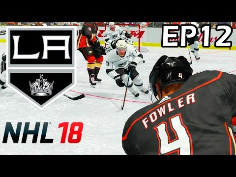 NHL 18 Los Angeles Kings Franchise - EP12 - One Mighty Finish