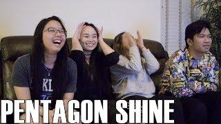 Pentagon (펜타곤)- Shine (Reaction Video)