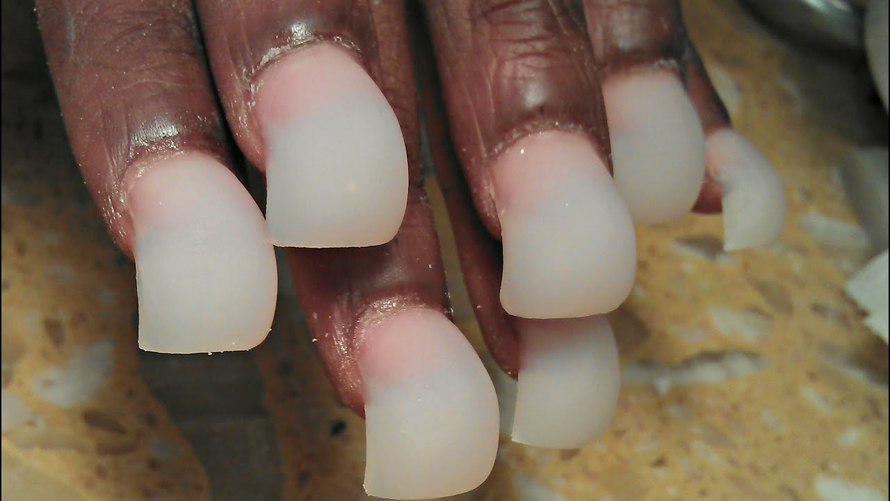 HOW TO MAKE BUBBLE BALLOON ACRYLIC NAILS EVEN BIGGER  caution may ...