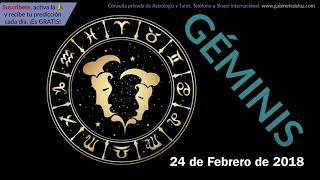 Horóscopo Diario - Géminis - 24 de Febrero de 2018