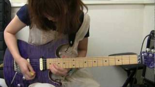 Miki Kato - Crying in the Rain Solo(Whitesnake)