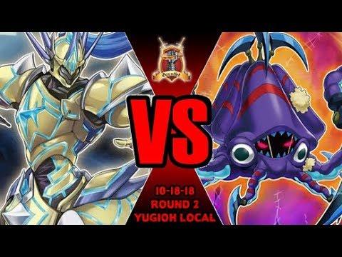 Frightfur Vs Crusadia - Yugioh Gauntlet Local Tournament 8-18-18 R2