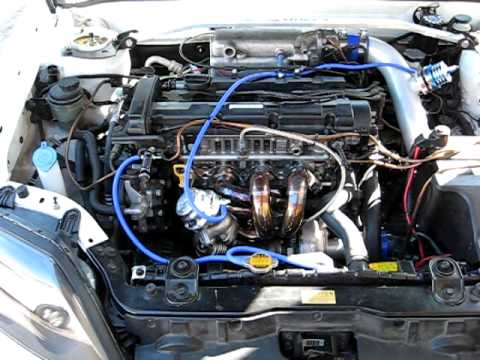 Hyundai Tiburon I4 Turbo Youtube