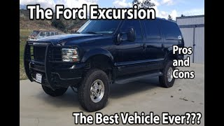 Pros And Cons of owning a Ford Excursion