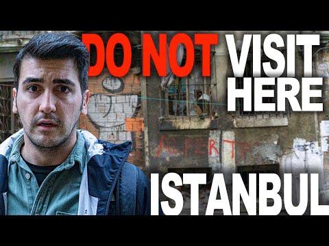 DANGEROUS SIDE OF ISTANBUL! (Taksim Istanbul Turkey)